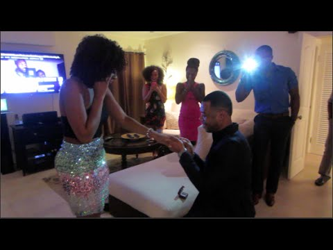 Vlog | Nky's Surprise Proposal Birthday Weekend!!!!! - ifyyvonne