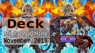 New archfiend black skull dragon Red-Eyes Deck profile Noviembre 2015 Duels & Decklist Yu Gi Oh