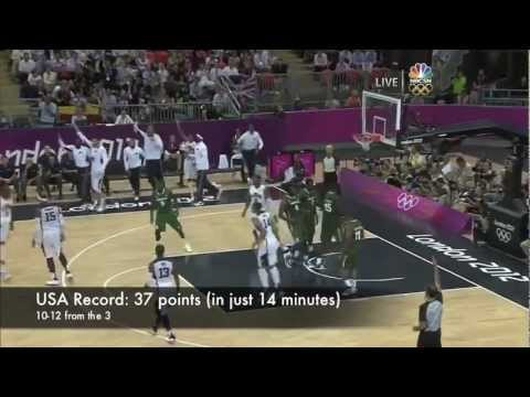 Carmelo Anthony Team USA Highlights 2012
