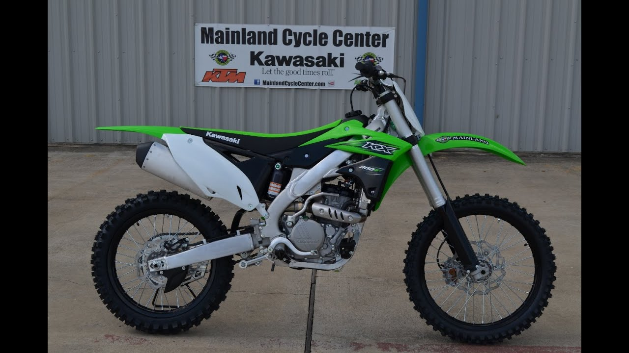 $7,599: 2016 kawasaki kx250f overview and review - youtube