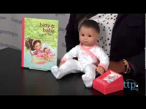 bitty baby from american girl youtube
