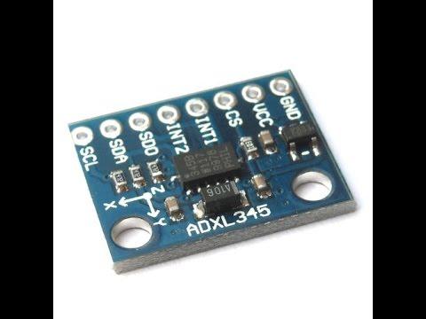 Arduino And Digital Accelerometer ADXL345 I2C