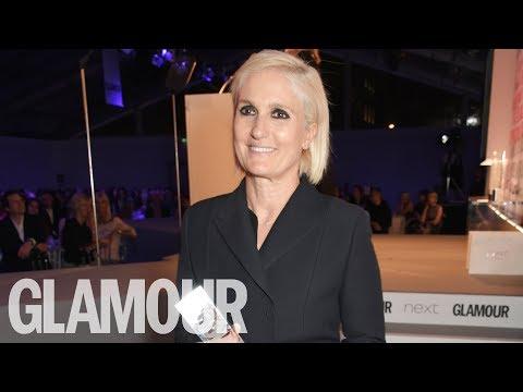 Maria Grazia Chiuri Designer of the Year   Glamour Women of the Year Awards 2017   Glamour UK