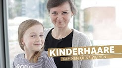Kinderhaare kämmen - ohne Weinen