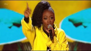 rai elle williams will make you bailando live shows week 2   the x factor uk 2017