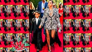"""Baixar Beyonce & Daughter Blu Ivy,  Dazzle the Red Carpet at the Premiere of Disneys """"The Lion King"""" Movie"""