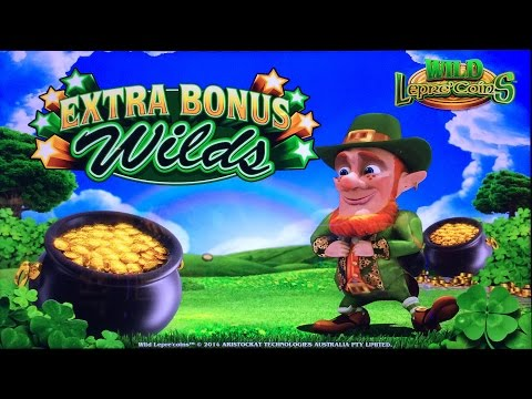 Wild Lepre Coins Slot Machine Bonuses With Lots Of Le