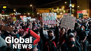 Breonna Taylor protests: Demonstrations erupt in New York after grand jury decision