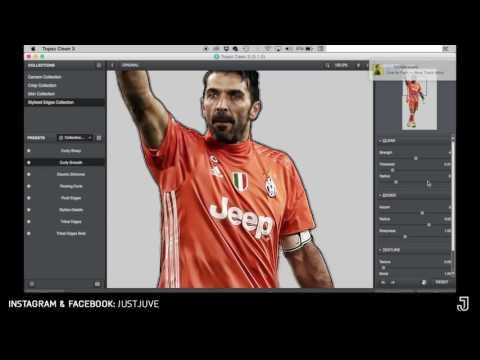 Speed art - Football Edit #1 | BUFFON (Adobe Photoshop) [@just.juve]
