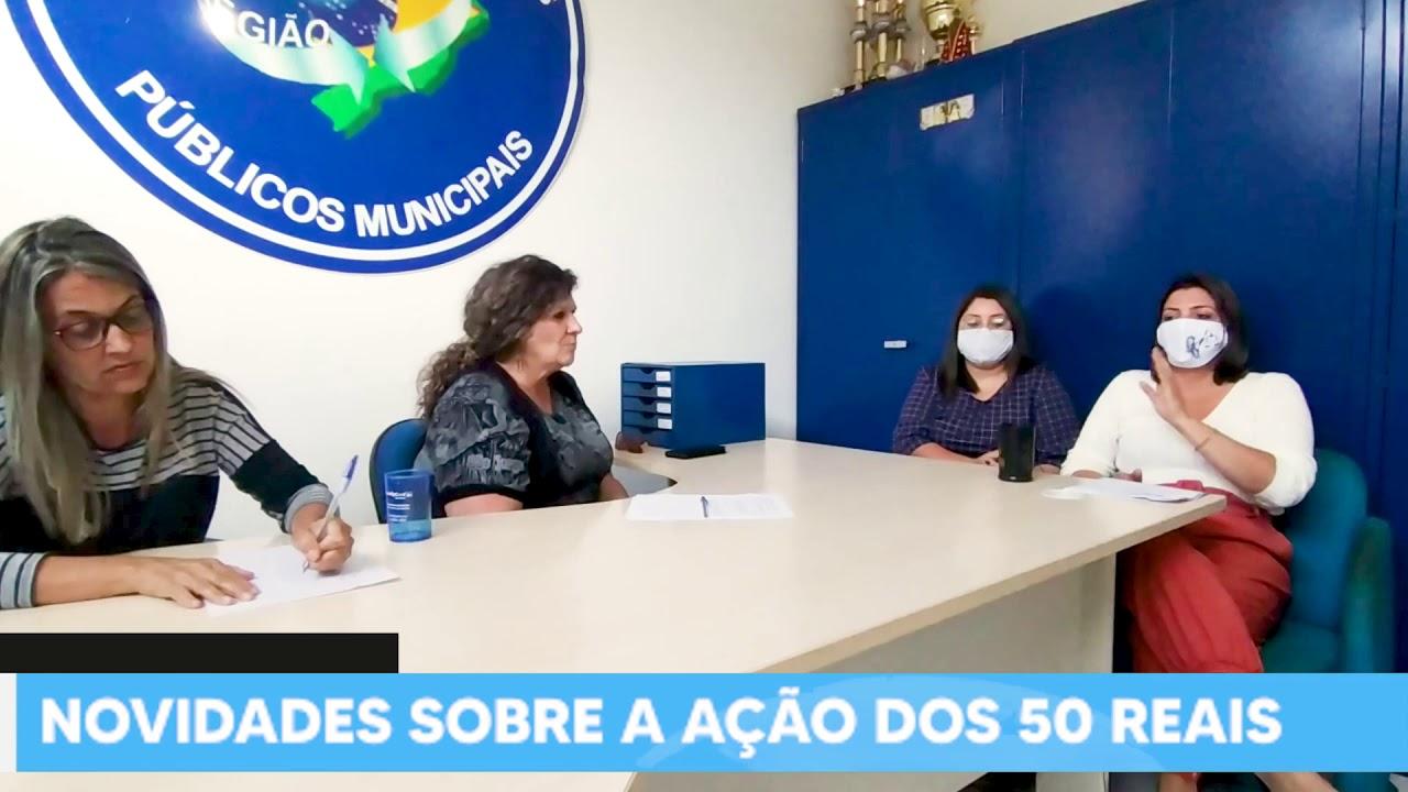 NOVAS INFORMAÇÕES SOBRE A AÇÃO DOS 50 REAIS
