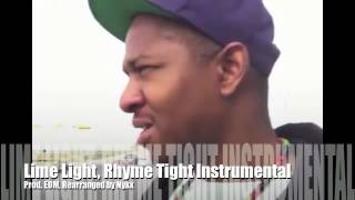 Lime Light Rhyme Tight Cypher Instrumental (32 Bars Rearranged For Easy Flow)