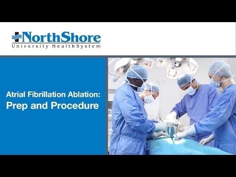 Atrial Fibrillation Ablation - Preparation & Procedure