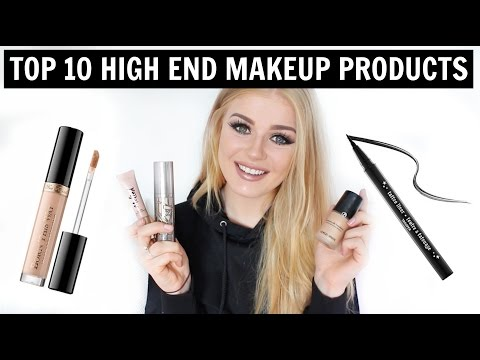 TOP 10 HIGH END MAKEUP MUST-HAVES | Lucy Flight