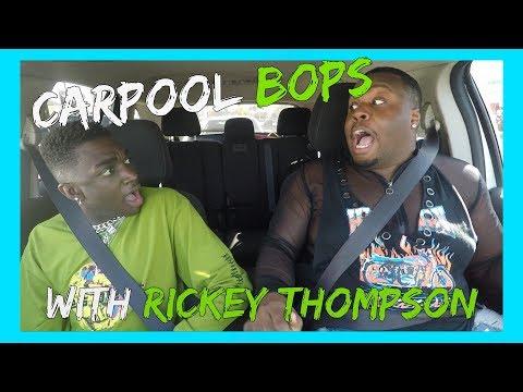 CARPOOL BOPS WITH RICKEY THOMPSON!!| Zachary Campbell