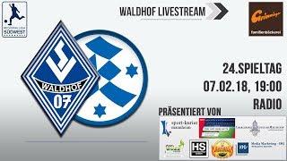 24.Spieltag: SV Waldhof - Stuttgarter Kickers (Radio)