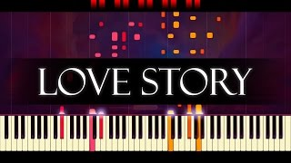 Where Do I Begin Piano LOVE STORY
