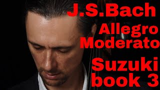 J.S. Bach Allegro Moderato in Fast and Slow tempo