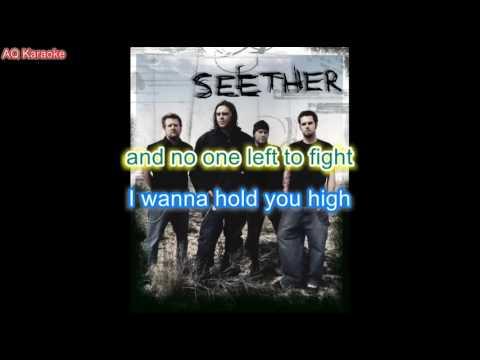 Broken  Seether karaoke lyrics