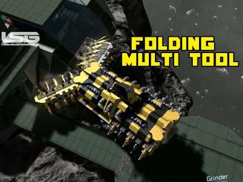 Space Engineers Folding Multi Tool Utility Ship