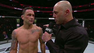 UFC 211: Frankie Edgar Octagon Interview