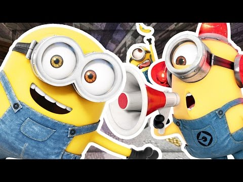 DESPICABLE ME MINIONS COPS AND ROBBERS HIDE AND SEEK MOD - Minecraft Mod