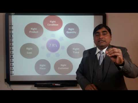 Logistics Management: Customer Services in Hindi under E-Learning Program