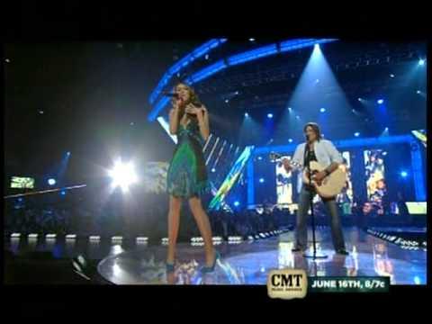 Ready, Set, Don't Go (live) - Billy Ray Cyrus w/Miley Cyrus w/lyrics
