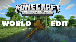[MCPE 0.11.1] World Edit Modu