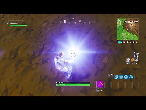 Fortnite Battle Royale- Astroid hit dusty and New Anti Gravity Gems?