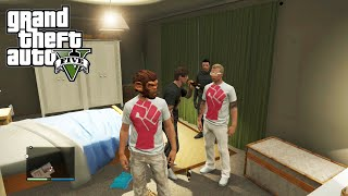 GTA 5 Online Playing with Subscribers (Nick and Bryce) Getting a Victory Fist Tee