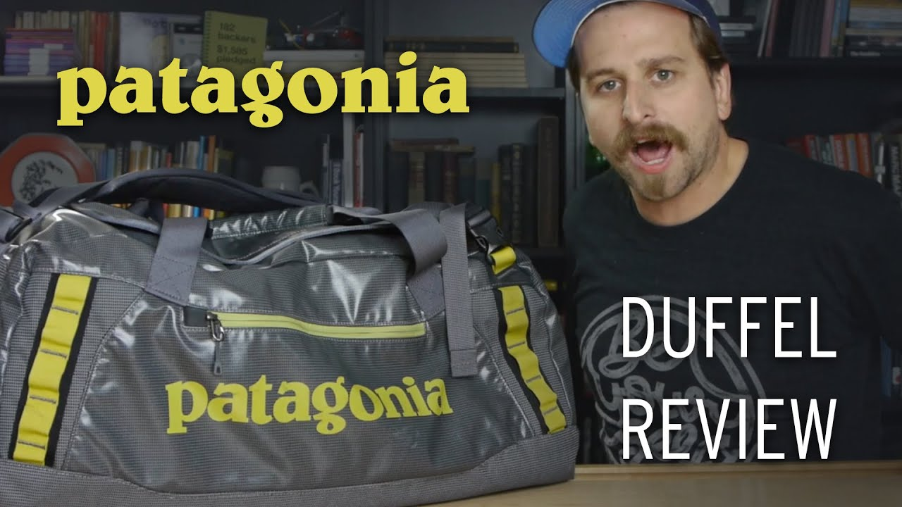 7618577dba Patagonia Black Hole Duffel Bag Review (60L) - YouTube