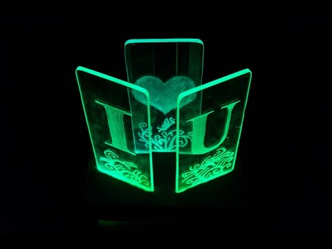 DIY LED Lamp for your girlfriend - How to make