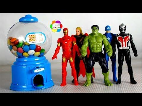 لعبة ماكينة اللبان الحقيقية الجديدة للاطفال اجمل العاب البنات والاولاد real candy machine toy game