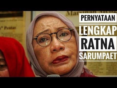 Full Ratna Sarumpaet Akui Berbohong - NET. JATIM