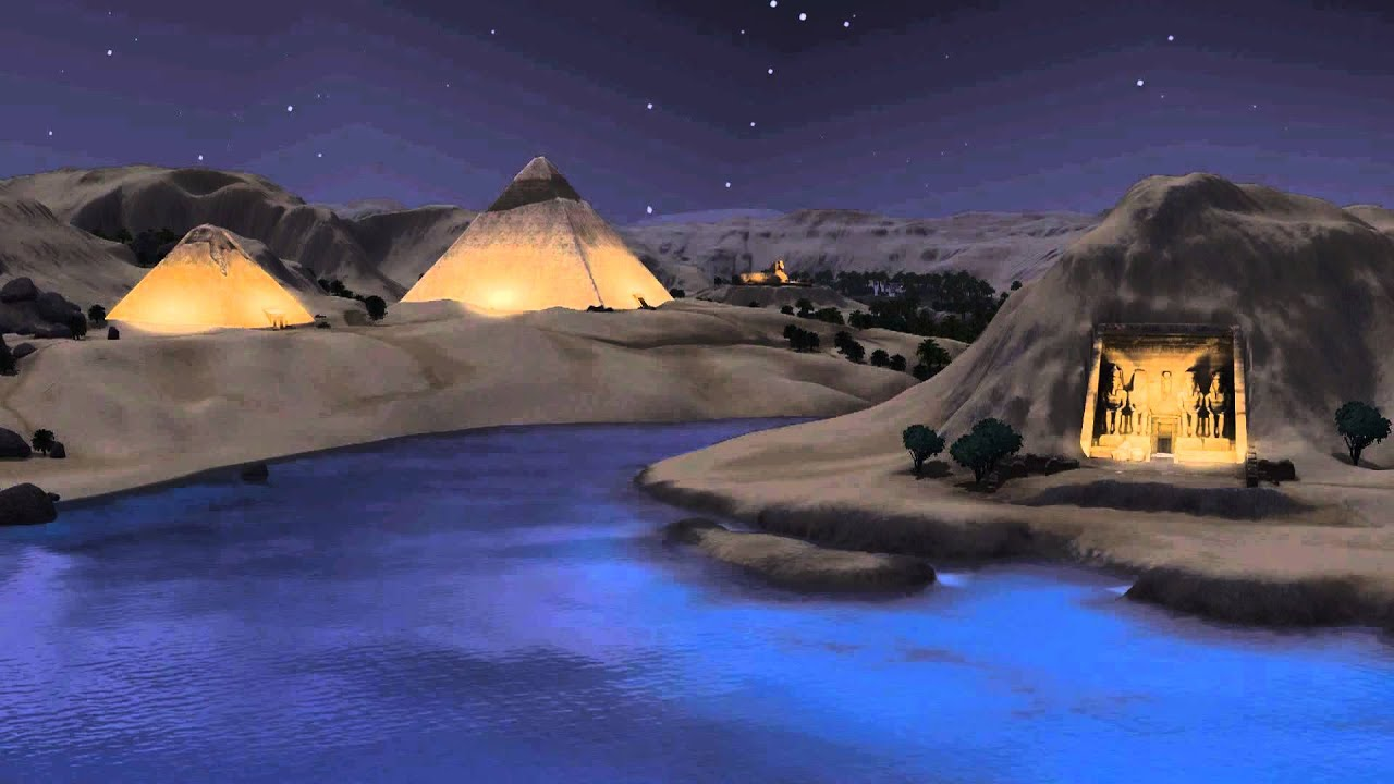 the sims 3 world adventures egypt loading soundtrack youtube