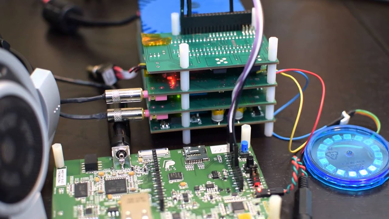 STM32F7 Discovery with external I2S on Arduino header