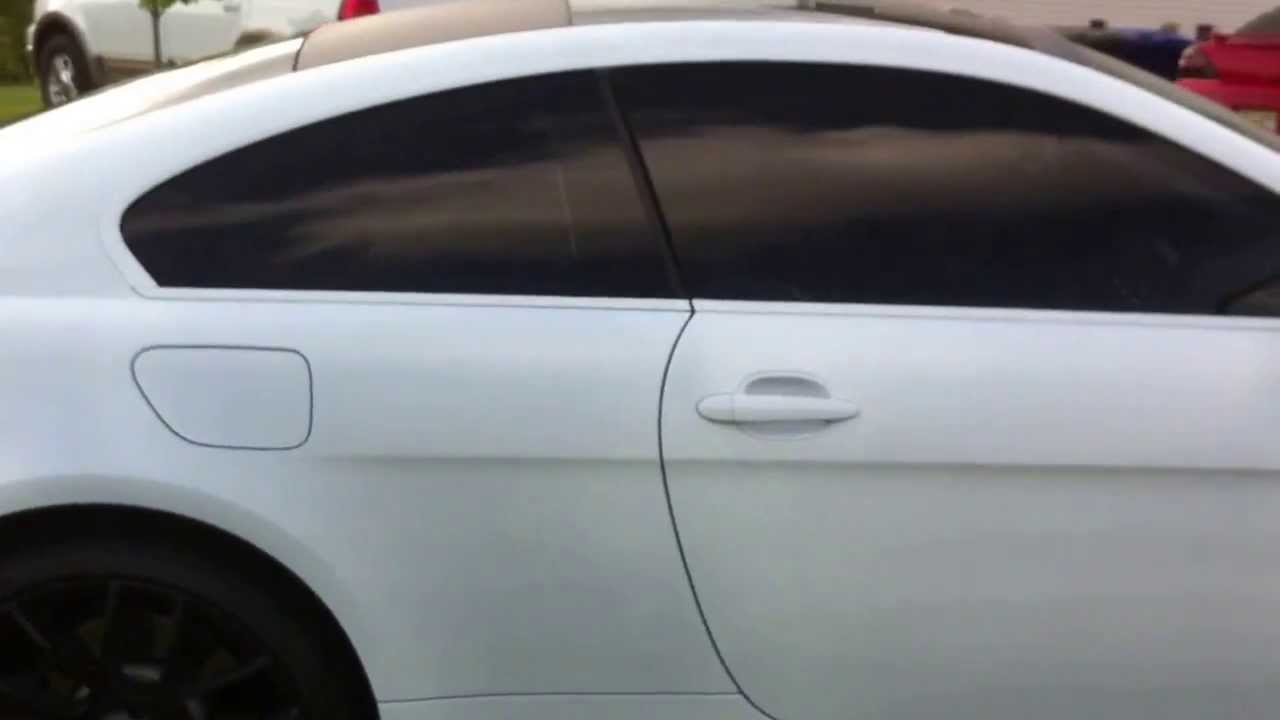 Plasti Dip Satin White Bmw 6 Series Youtube