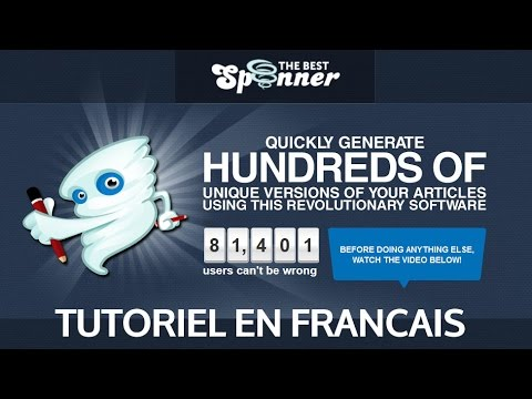 Tutoriel the best spinner en français