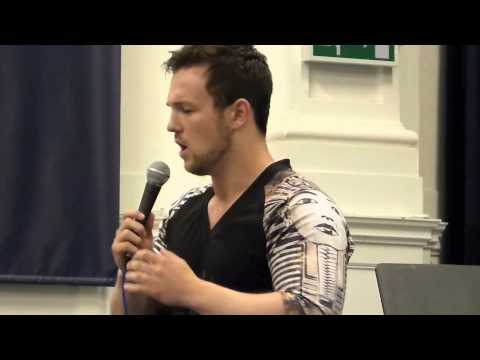 Collabro - Richard Hadfield singing Empty Chairs at Brighton Rock Choir