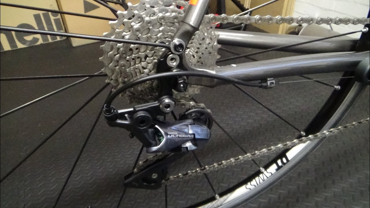 Shimano Ultegra R8000 Rear Derailleur Fitting Guide Youtube