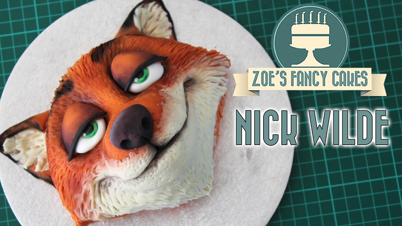 Zootopia Nick Birthday Cake