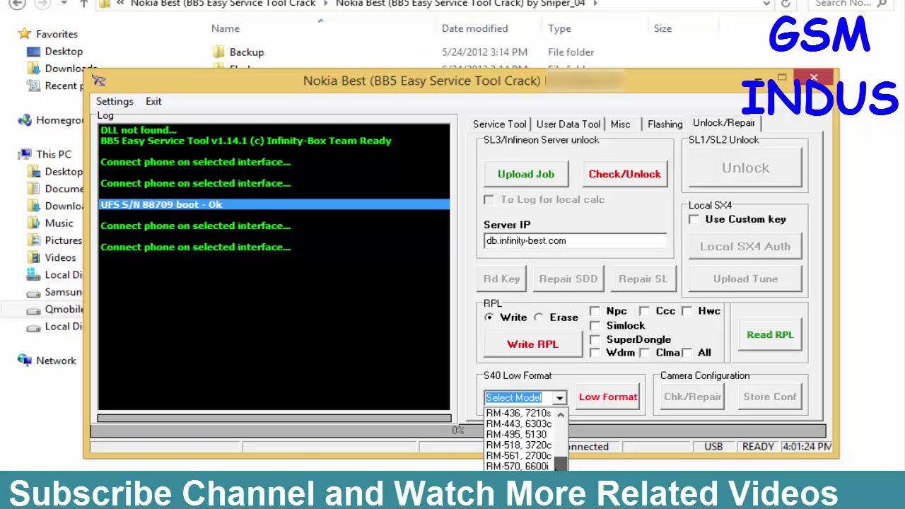 nokia best bb5 easy service tool crack latest version