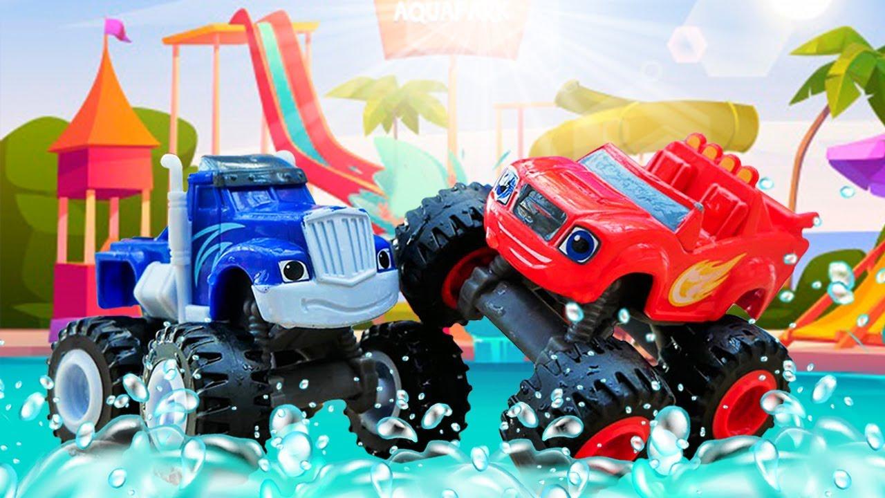 Qual é carro mais rápido? Blaze e as Monster Machines em português