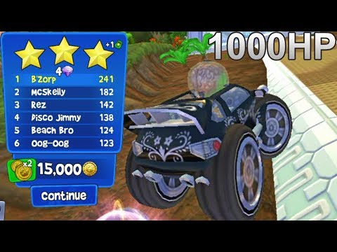 Beach Buggy Racing - Rally Pro Championship 1000HP - B'zorp - IOS/Android