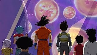 Super Dragon Balls first appearance! | Dragon Ball Super - Episode 32 [Full HD]