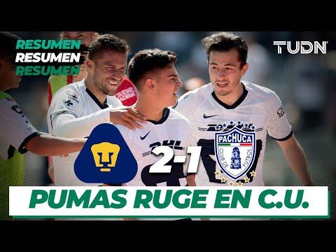 Resumen y Goles | Pumas 2 - 1 Pachuca | Liga Mx - CL 2020 J1 | TUDN