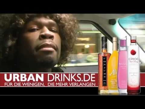 Lustiger 50 CENT!!! Vitamin Water FORMULA 50!!! URBAN-DRINKS.de - YouTube