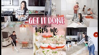 GET IT ALL DONE // SHOP, COOK & CLEAN WITH ME!