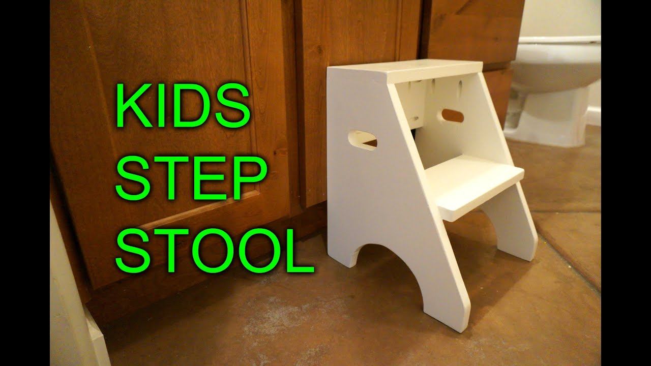 Diy Step Stool For My Daughter Youtube