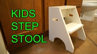Diy Step Stool For My Daughter